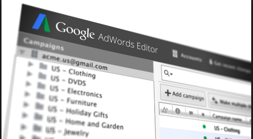 Google AdWords Editor 12 – Fresh and New Look