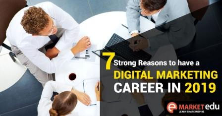 Scope of Digital marketing career in 2019