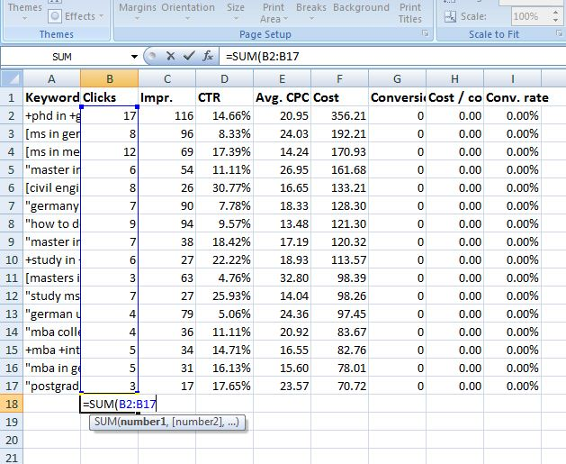 10 Must Known Excel Formulas And Shortcuts For Digital Marketing