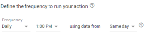 Frequency rule in new  Google Ads interface