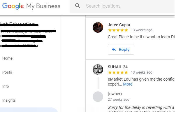 free listing in google my business